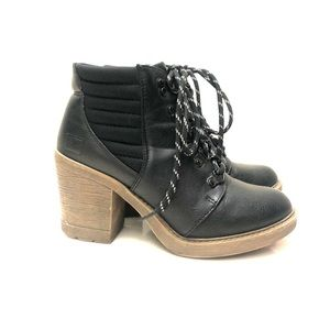 Chinese Laundry Combat Boots